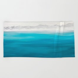 Arctic Mountains Beach Towel