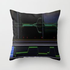 deep space sequencing Throw Pillow