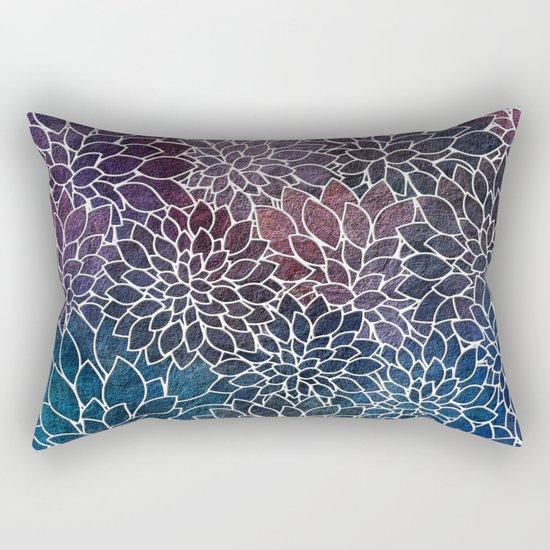 Floral Abstract 21 Rectangular Pillow
