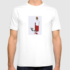verità SMALL Mens Fitted Tee White