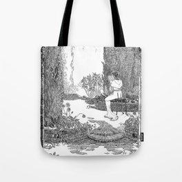 Le Jardin Secret Tote Bag