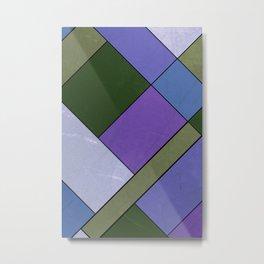 Abstract #814 Metal Print