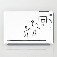 basketball iPad Cases featuring basketball usa basketball player by Lineamentum