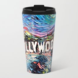 van Gogh Never Saw Hollywood Travel Mug