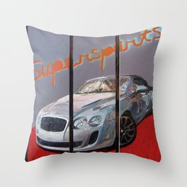 Supersports Throw Pillow