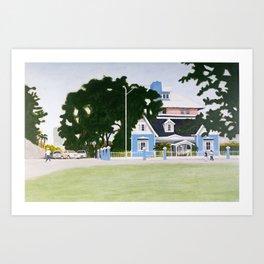 The George Brown House Art Print