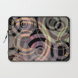 PATTERN-8 [gentle circles] Laptop Sleeve