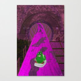 River of Slime Canvas Print