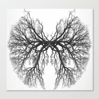 lungs Canvas Prints featuring Lungs by Arturo Navarrete