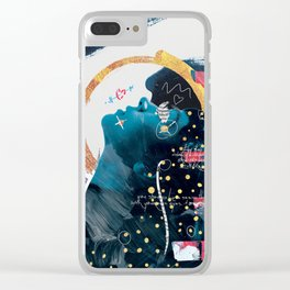 Howling Clear iPhone Case