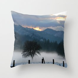 When the Spirits awaken.... Throw Pillow