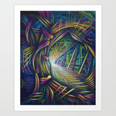 Bright Future Art Print