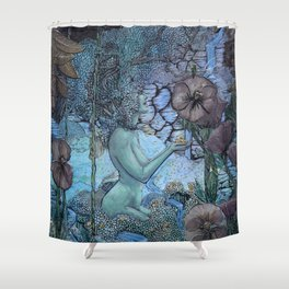 Gaian Forest Shower Curtain