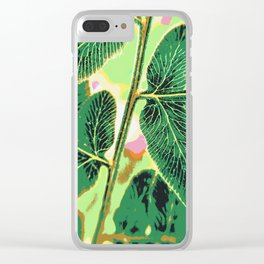 party fern Clear iPhone Case