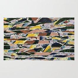 landscape / compression / velocity Rug