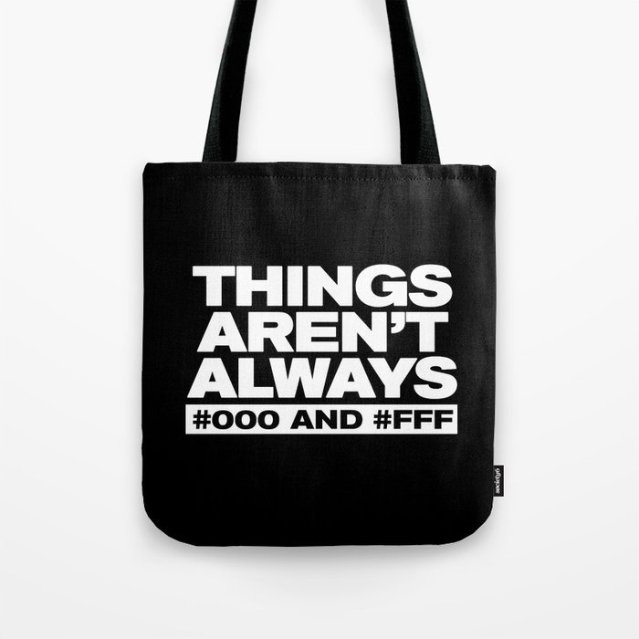 Things Tote Bag