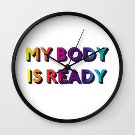 My Body Wall Clock