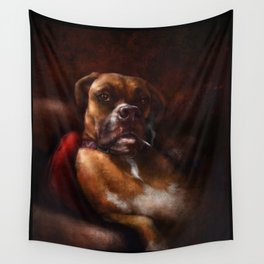 Boxer Wall Tapestry
