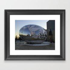 A New Planet ?  No it's The Bean Framed Art Print