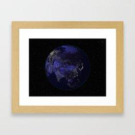 Our World 2 Framed Art Print