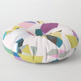 Crystals Floor Pillow