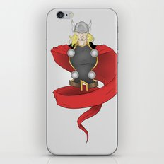 Thor Bust iPhone & iPod Skin