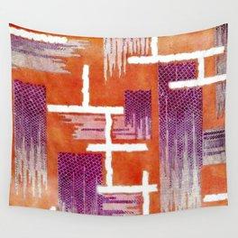 Diamond Weave Anemone Harvest Wall Tapestry