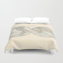 Hemispheres Duvet Cover