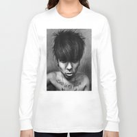 rock n roll Long Sleeve T-shirts featuring Rock N Roll by ''Befne''