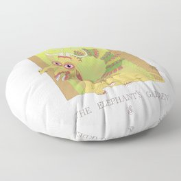 The Elephant's Garden - The Perpetual Glibb Floor Pillow