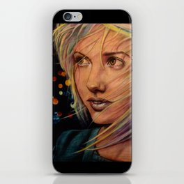 Wind Speaks While the City Sleeps (VIDEO IN DESCRIPTION!) iPhone Skin