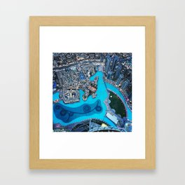 From The Top Framed Art Print