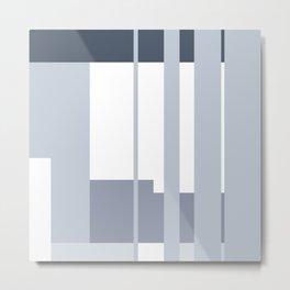 Mesa in Blue Metal Print