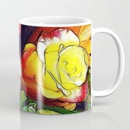 Roses Sketch Digital Coffee Mug