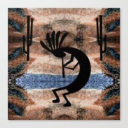 Kokopelli Southwest Desert Canvas Print