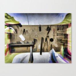 Carpenter woodworker Canvas Print