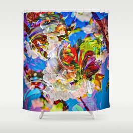Abstract Perfection 14  Spring Shower Curtain
