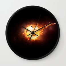 Football, Soccer Ball Wall Clock
