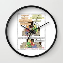 Natural Demographic #9 Wall Clock