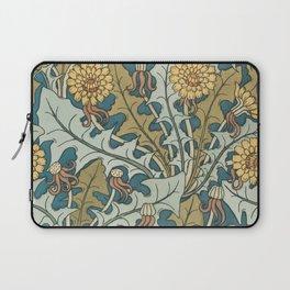 Art Nouveau Dandelion Pattern Laptop Sleeve