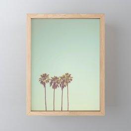 California Dreams Framed Mini Art Print