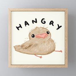 Hangry Chick Framed Mini Art Print