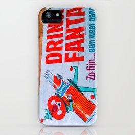 Drink Fanta iPhone Case