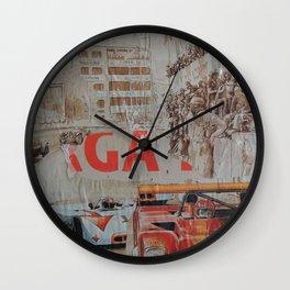 Tribute to Targa Florio Wall Clock