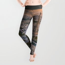 Paris from the air Leggings