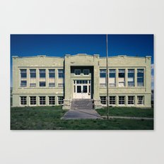 Antelope School Canvas Print