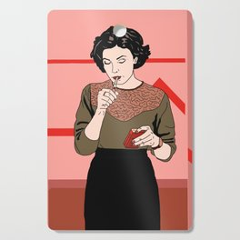 Audrey Horne  Cutting Board