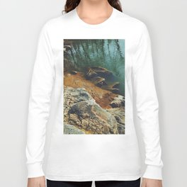Orange Shore Long Sleeve T-shirt