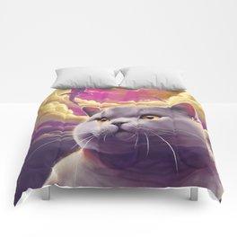 Cat Dreams Comforters