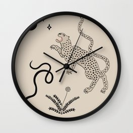Desert Prey Wall Clock